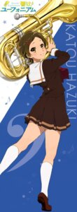 Rating: Safe Score: 20 Tags: hibike!_euphonium katou_hazuki_(hibike!_euphonium) seifuku stick_poster User: Radioactive