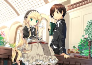 Rating: Safe Score: 37 Tags: dress gosick hanabana_tsubomi kujo_kazuya lolita_fashion victorica_de_broix User: fireattack