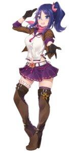 Rating: Safe Score: 31 Tags: heels iya_meguri onsen_musume thighhighs yaman User: saemonnokami