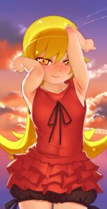 Rating: Safe Score: 16 Tags: bakemonogatari bloomers dress note2000 oshino_shinobu User: Nico-NicoO.M.