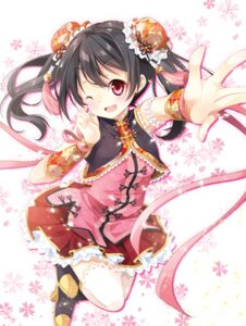 Rating: Safe Score: 53 Tags: chinadress heels love_live! mocha_(naturefour) thighhighs yazawa_nico User: 椎名深夏