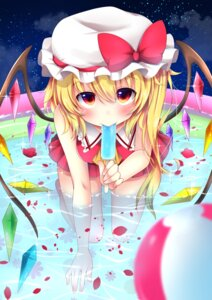 Rating: Safe Score: 34 Tags: flandre_scarlet sisterakuma touhou wet wings User: Mr_GT