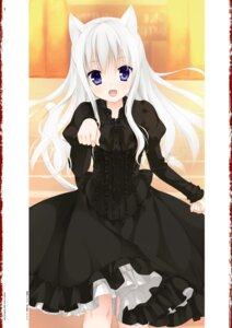 Rating: Safe Score: 56 Tags: animal_ears digital_version dress gothic_lolita hidan_no_aria jeanne_d'arc jeanne_d'arc_(hidan_no_aria) kobuichi lolita_fashion nekomimi tail User: Twinsenzw
