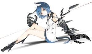 Rating: Safe Score: 52 Tags: animal_ears dress heels mecha_musume nekomimi seifuku tail tokichi User: nphuongsun93