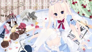 Rating: Safe Score: 21 Tags: alice alice_in_wonderland dress sakuragi_yuzuki thighhighs User: Riven