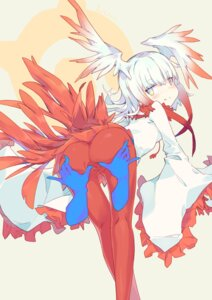 Rating: Explicit Score: 24 Tags: ass crested_ibis kemono_friends litsvn nopan pantyhose pussy wings User: Mr_GT