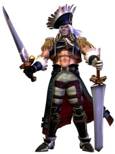 Rating: Questionable Score: 3 Tags: cervantes_de_leon male pirate soul_calibur sword weapon User: Yokaiou