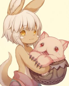 Rating: Questionable Score: 7 Tags: animal_ears choke_(amamarin) made_in_abyss nanachi tail User: Dreista