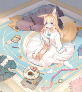 Rating: Safe Score: 30 Tags: animal_ears can_ge_dao dress kitsune neko tail User: Mr_GT
