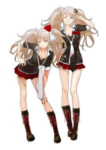 Rating: Safe Score: 48 Tags: cleavage dangan-ronpa enoshima_junko ikusaba_mukuro redjuice User: demonbane1349