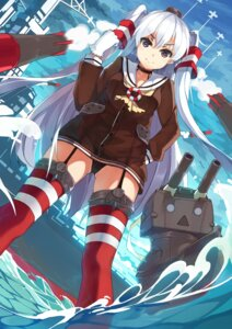 Rating: Questionable Score: 33 Tags: amatsukaze_(kancolle) baisi_shaonian kantai_collection pantsu stockings thighhighs User: Radioactive