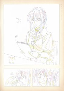 Rating: Safe Score: 10 Tags: monochrome sketch takase_akiko violet_evergarden violet_evergarden_(character) User: tuyenoaminhnhan