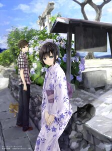 Rating: Safe Score: 33 Tags: mikipuruun_no_naegi neko yukata User: blooregardo
