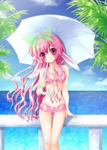 Rating: Safe Score: 43 Tags: animal_ears bikini bunny_ears ratise swimsuits User: fairyren