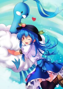 Rating: Safe Score: 25 Tags: altaria hinanawi_tenshi koissa pokemon thighhighs touhou User: Mr_GT