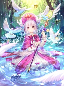 Rating: Safe Score: 51 Tags: dress pantyhose shadowverse silver15 weapon wet User: RyuZU