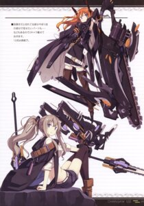 Rating: Safe Score: 20 Tags: asahiage chainsaw mecha_musume poco thighhighs User: fireattack
