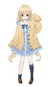 Rating: Safe Score: 15 Tags: dress futaba_anzu sweater the_idolm@ster the_idolm@ster_cinderella_girls xi_xeong User: KazukiNanako