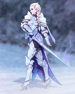 Rating: Safe Score: 11 Tags: armor bodysuit elsa_(frozen) frozen heels sword zeronis User: animeprincess