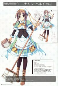 Rating: Safe Score: 11 Tags: character_design ko~cha nina_lindberg profile_page shukufuku_no_campanella sketch User: admin2