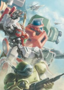 Rating: Safe Score: 5 Tags: gun guts_(artist) mecha super_robot_wars super_robot_wars_z super_robot_wars_z2 User: Radioactive