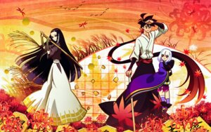 Rating: Safe Score: 11 Tags: katanagatari kiguchi_zanki togame wallpaper yasuri_shichika User: Ash89