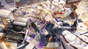 Rating: Safe Score: 61 Tags: dress mecha_musume neko_(yanshoujie) signed violet_evergarden violet_evergarden_(character) User: RyuZU