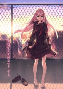Rating: Safe Score: 52 Tags: btoor megurine_luka seifuku vocaloid User: charunetra