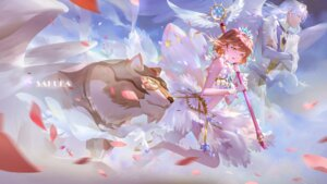 Rating: Safe Score: 27 Tags: card_captor_sakura dress heels kerberos kinomoto_sakura luthien weapon wings yue User: Spidey