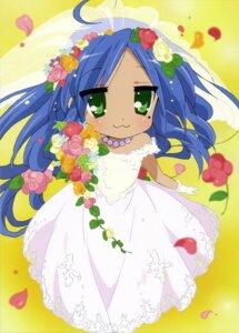 Rating: Safe Score: 33 Tags: dress izumi_konata lucky_star wedding_dress User: Elow69