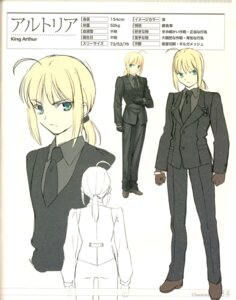 Rating: Safe Score: 6 Tags: binding_discoloration business_suit fate/stay_night fate/zero saber takeuchi_takashi type-moon User: tharthar2