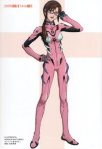 Rating: Questionable Score: 14 Tags: bodysuit makinami_mari_illustrious matsubara_hidenori megane neon_genesis_evangelion User: gogotea28