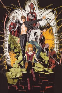 Rating: Safe Score: 7 Tags: amane_misa death_note l obata_takeshi yagami_light User: Radioactive