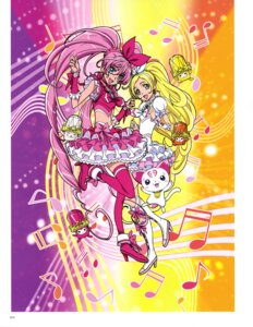Rating: Questionable Score: 5 Tags: dress heels houjou_hibiki hummy minamino_kanade pretty_cure suite_pretty_cure takahashi_akira thighhighs User: drop