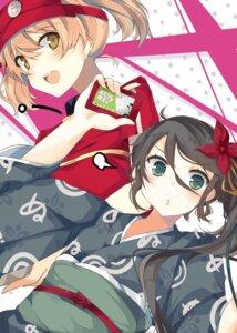 Rating: Safe Score: 23 Tags: hataraku_maou-sama! kamazuki_suzuno kimono nmaaaaa sasaki_chiho User: 椎名深夏