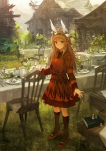 Rating: Safe Score: 95 Tags: animal_ears bunny_ears dress heels op-center User: blooregardo