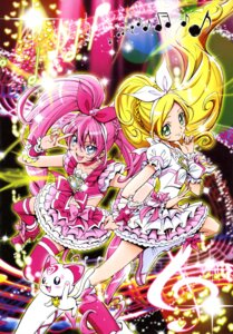 Rating: Safe Score: 7 Tags: dress heels houjou_hibiki hummy kamikita_futago minamino_kanade pretty_cure suite_pretty_cure thighhighs User: drop