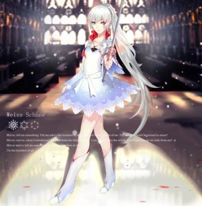 Rating: Safe Score: 76 Tags: kiwamu rwby sword weiss_schnee User: dyj