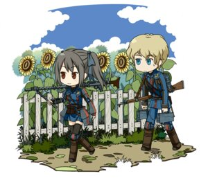 Rating: Safe Score: 8 Tags: chibi edy_nelson gun thighhighs uniform valkyria_chronicles wood0083 User: Radioactive