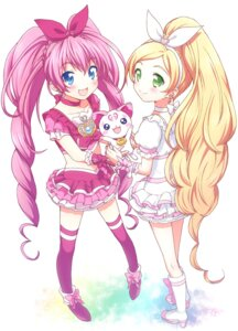 Rating: Safe Score: 18 Tags: houjou_hibiki mani minamino_kanade pretty_cure suite_pretty_cure thighhighs User: Nekotsúh