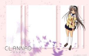 Rating: Safe Score: 6 Tags: clannad sakagami_tomoyo seifuku vector_trace wallpaper User: Fujibayashi_Kyou