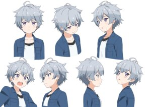 Rating: Safe Score: 9 Tags: character_design expression mitsurugi_makoto sora_to_umi_no_aida User: saemonnokami