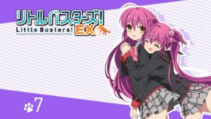 Rating: Questionable Score: 37 Tags: futaki_kanata little_busters! saigusa_haruka seifuku User: SHM222