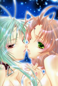 Rating: Questionable Score: 15 Tags: dears miu naked peach-pit ren_(dears) yuri User: Radioactive