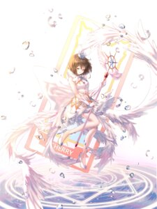 Rating: Safe Score: 21 Tags: card_captor_sakura dress heels kinomoto_sakura ueng wings User: Dreista