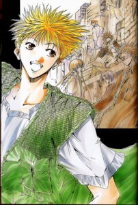 Rating: Safe Score: 1 Tags: amano_ginji ayamine_rando binding_discoloration cropme get_backers male User: charunetra