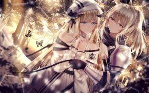 Rating: Safe Score: 29 Tags: animal_ears arknights armor horns junpaku_karen nearl_(arknights) nightingale_(arknights) yuri User: Mr_GT