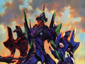 Rating: Safe Score: 20 Tags: eva_00 eva_01 eva_02 mecha neon_genesis_evangelion wallpaper User: anaraquelk2