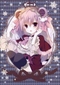 Rating: Questionable Score: 20 Tags: animal_ears cleavage inugami_kira necotoxin tail thighhighs User: Radioactive