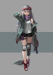 Rating: Safe Score: 17 Tags: dori_(9720xyz) g11_(girls_frontline) garter girls_frontline gun User: Dreista